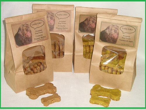 LUCKY LIKE DOG TREATS Premium Baked Biscuits All Natural 10 oz