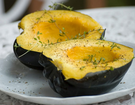 Squash table queen heirloom seeds 2015 for Table queen squash