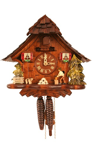 Engstler Black Forest Cuckoo Clock Engstler Weight-driven Full Size 492
