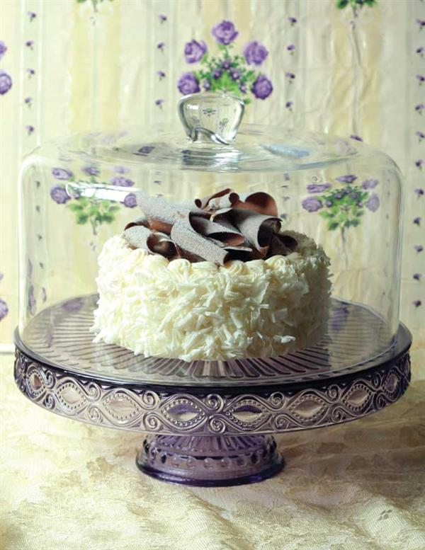 Glass Cake Dome Elegant Topper for Your Favorite Cake Plate