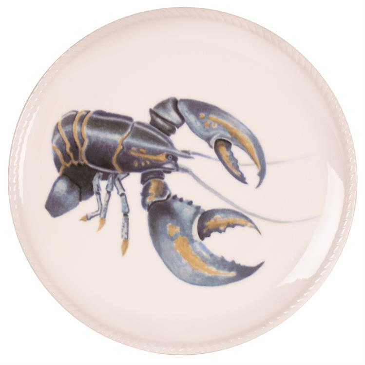 Fitz and Floyd CAPE CORAL LOBSTER Porcelain Accent Plate 8.5""