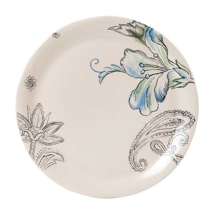Fitz and Floyd PAISLEY PARK DINNER PLATE Floral
