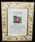 Fit Of Pique Genuine Pique Assiette Photo Frame 5 x 7 Daisies